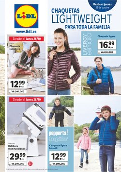 Ofertas de Ropa, Zapatos y Complementos en el catálogo de Lidl en Talavera de la Reina ( Publicado hoy )