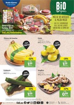 Ofertas de Plátanos en Lidl
