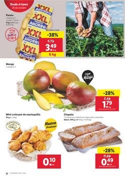 Ofertas de Croissants en Lidl
