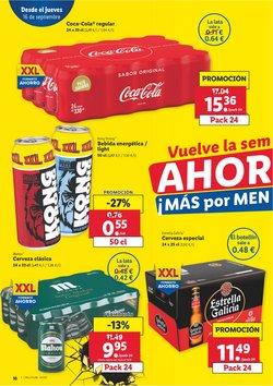 Ofertas de Estrella Galicia en el catálogo de Lidl ( Publicado hoy)