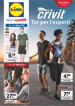 Ofertas de Deporte en el catálogo de Lidl ( Caduca mañana)