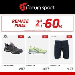 Ofertas de Deporte en el catálogo de Forum Sport ( 8 días más)