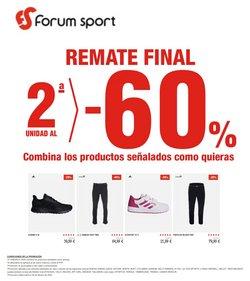 Ofertas de Deporte en el catálogo de Forum Sport en Beasain ( 10 días más )