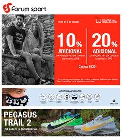 Catálogo Forum Sport en Carbajosa de la Sagrada ( Caduca hoy )