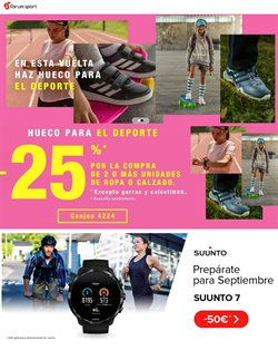 Catálogo Forum Sport en Torrelavega ( Caduca mañana )