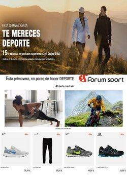 Catálogo Forum Sport ( Caducado)