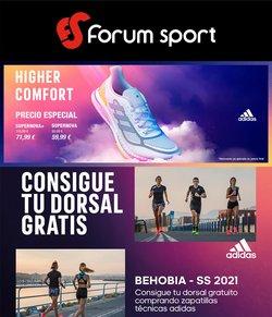 Ofertas de Forum Sport en el catálogo de Forum Sport ( Publicado hoy)