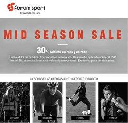 Ofertas de Forum Sport en el catálogo de Forum Sport ( Caducado)