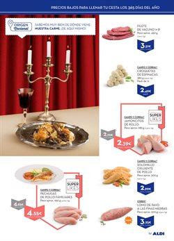 Ofertas de Carne y charcutería  en el folleto de Aldi en Zamora