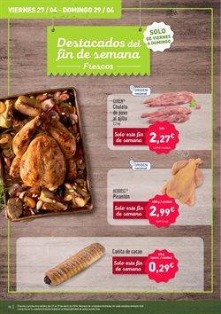 Ofertas de Pollo  en el folleto de Aldi en Palamos
