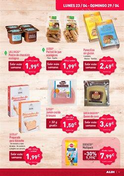 Ofertas de Alimentos sin gluten  en el folleto de Aldi en Zamora