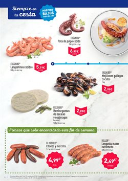 Ofertas de Langostinos cocidos  en el folleto de Aldi en Murcia