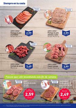 Ofertas de Carne  en el folleto de Aldi en Palamos
