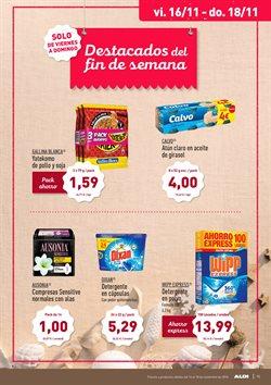 Ofertas de Detergente en cápsulas  en el folleto de Aldi en Chiclana de la Frontera