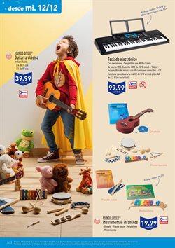 Ofertas de Instrumentos musicales  en el folleto de Aldi en León