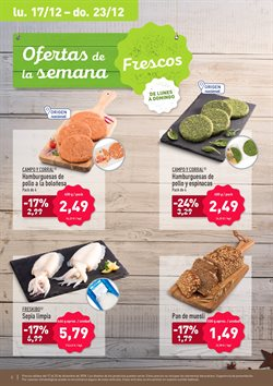Ofertas de Hamburguesas de pollo  en el folleto de Aldi en Madrid