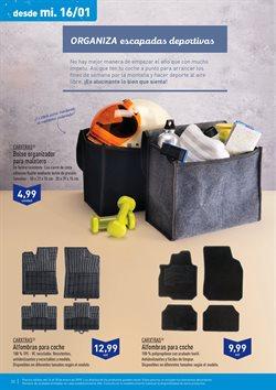 Ofertas de Alfombrillas coche  en el folleto de Aldi en Madrid