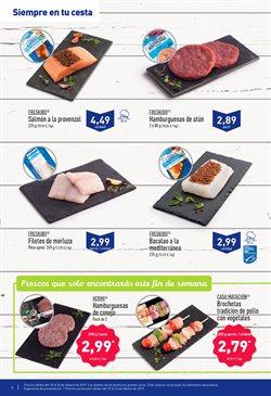 Ofertas de Filetes de merluza  en el folleto de Aldi en Murcia