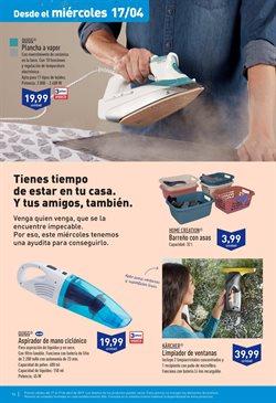 Ofertas de Plancha de vapor  en el folleto de Aldi en Jerez de la Frontera