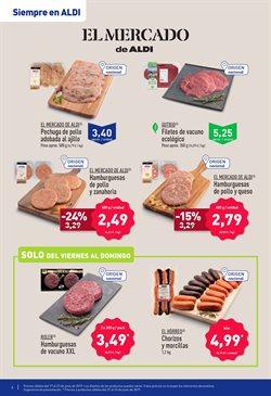 Ofertas de Hamburguesas  en el folleto de Aldi en Jaén