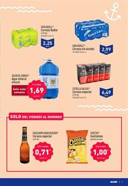 Ofertas de Estrella Galicia  en el folleto de Aldi en Cartagena