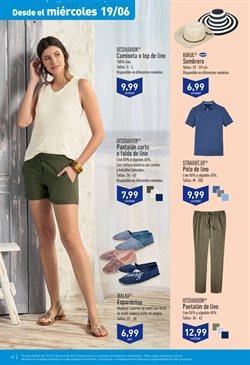 Ofertas de Camiseta mujer  en el folleto de Aldi en Alicante