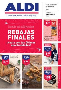 Ofertas de Hiper-Supermercados en el catálogo de ALDI en Lloret de Mar ( 2 días más )