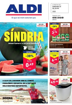 Catálogo ALDI en Figueres ( Caduca mañana )