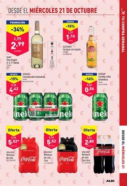 Ofertas de Coca-Cola Zero en ALDI