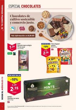 Ofertas de Chocolate negro en ALDI