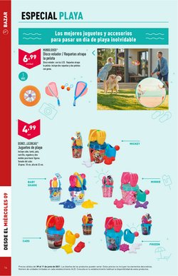 Ofertas de Disney en el catálogo de ALDI ( Caduca mañana)