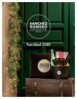 Ofertas de Cestas de Navidad  en el folleto de Supermercados Sánchez Romero en Madrid