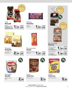 Ofertas de Cola Cao en Supermercados Sánchez Romero