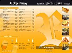 Ofertas de Rothenburg  en el folleto de Barcelona
