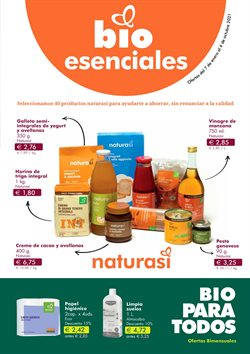 Ofertas de NaturaSí en el catálogo de NaturaSí ( Más de un mes)