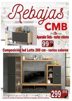Catálogo CMB Bricolage en Pozuelo de Alarcón ( 12 días más )