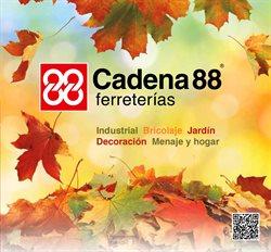 Ofertas de Jardín y bricolaje  en el folleto de Cadena88 en Cartagena