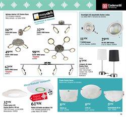 Ofertas de Lámpara de techo  en el folleto de Cadena88 en Telde