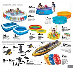 Ofertas de Barca hinchable  en el folleto de Cadena88 en Madrid