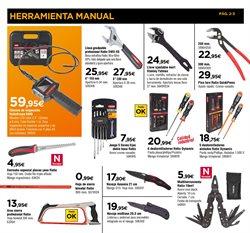 Ofertas de Herramientas de carpintero  en el folleto de Cadena88 en Palamos