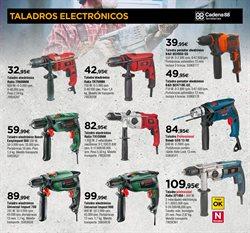 Ofertas de Taladro  en el folleto de Cadena88 en Zaragoza