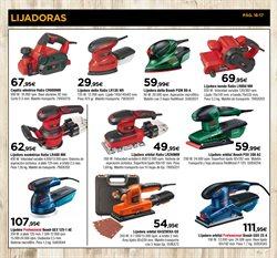 Ofertas de Lijadora  en el folleto de Cadena88 en A Coruña