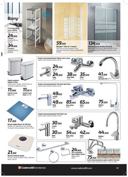 Ofertas de Báscula de baño  en el folleto de Cadena88 en Palma de Mallorca