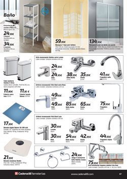 Ofertas de Báscula de baño  en el folleto de Cadena88 en Gandia