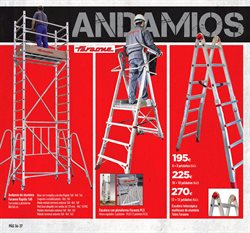 Ofertas de Andamio  en el folleto de Cadena88 en Córdoba