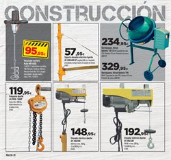 Ofertas de Construcción  en el folleto de Cadena88 en Telde