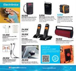 Ofertas de Radio  en el folleto de Cadena88 en Barcelona