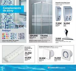 Ofertas de Ducha  en el folleto de Cadena88 en Tarragona