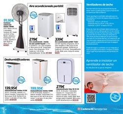 Ofertas de Deshumidificador  en el folleto de Cadena88 en Getafe
