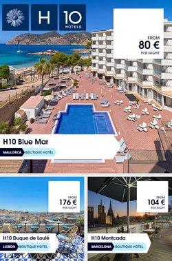 Ofertas de H10 Hotels en el catálogo de H10 Hotels ( Caduca mañana)